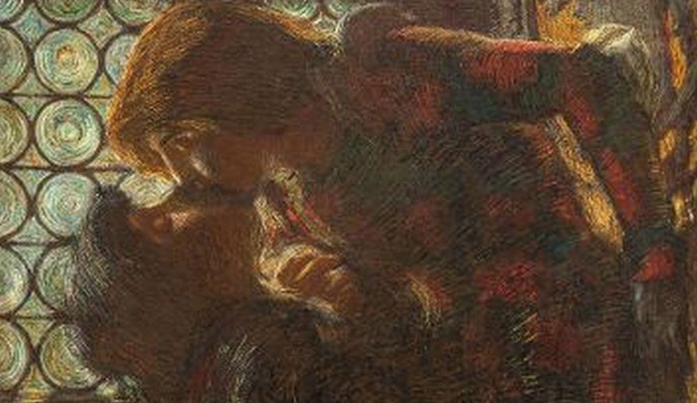 """Il Museo del Divisionismo di Tortona si arricchisce di una nuova e importante opera nascosta da un secolo: """"Il Bacio"""" di Previati"""