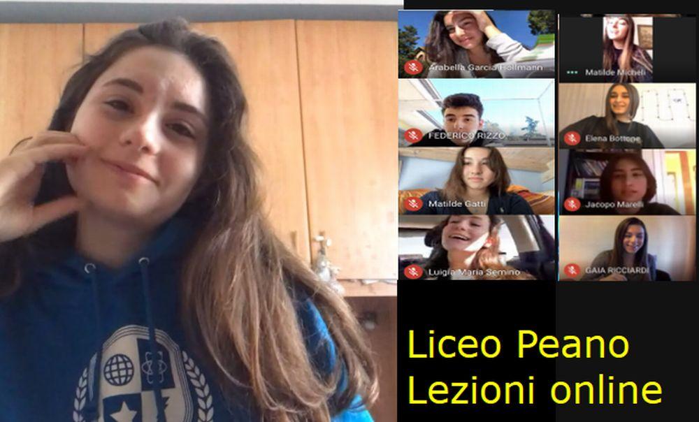 """Al Liceo """"Giuseppe Peano"""" di Tortona l'attività didattica non si ferma"""