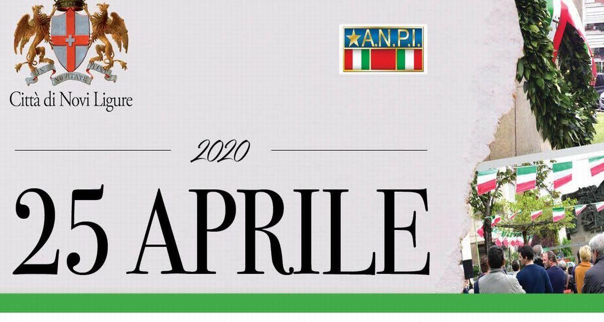 Come sarà il 75° Anniversario della Liberazione a Novi Ligure