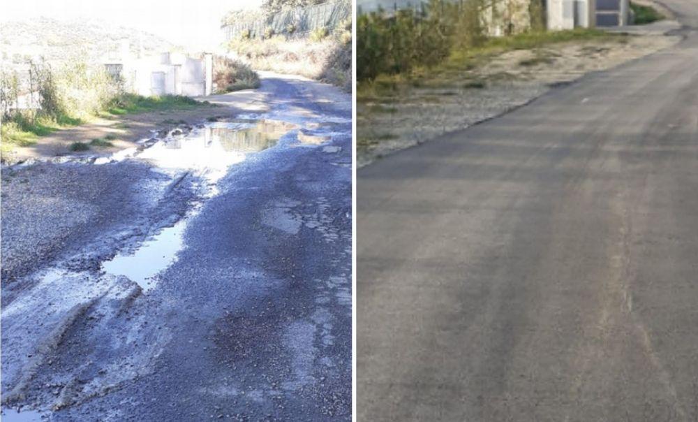 Imperia, asfalti in corso. Rulli in azione in Via Molino dei Giusi. Lunedì tocca a Via Amendola