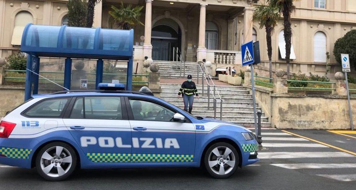 La Polizia Stradale di Imperia fa squadra con Il Bordivolley e la  Direzione Sanitaria contro il virus