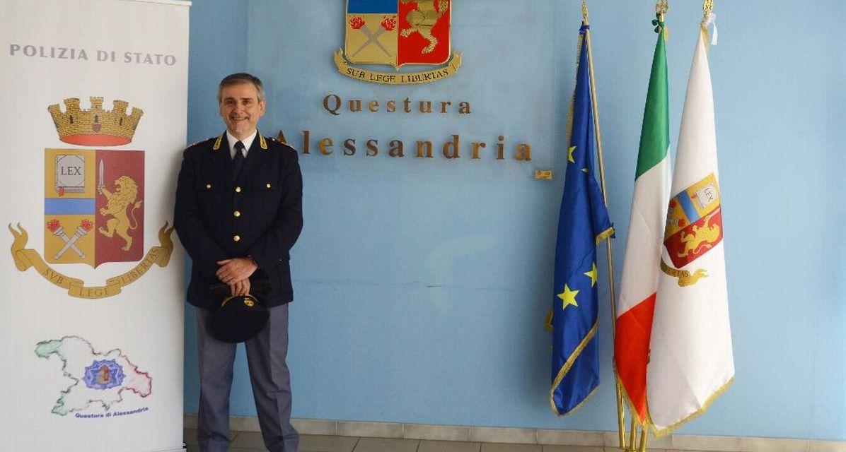 La Polizia di Alessandria ha un nuovo Commissario, è Alessandro Luisi