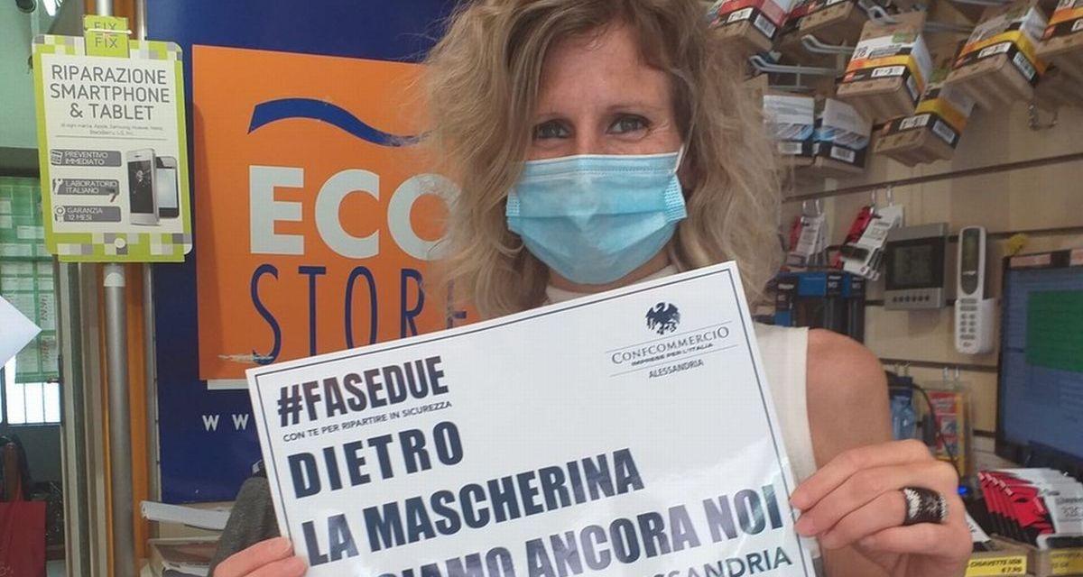 """""""Dietro la mascherina ci siamo ancora noi"""" Ad Alessandria  una giornata simbolica dopo 68 giorni di lockdown"""