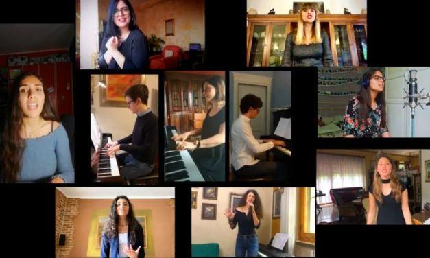 """Gran progetto musicale al Liceo """"Peano di Tortona in un video bellissimo: """"Siamo visionari non sognatori"""""""