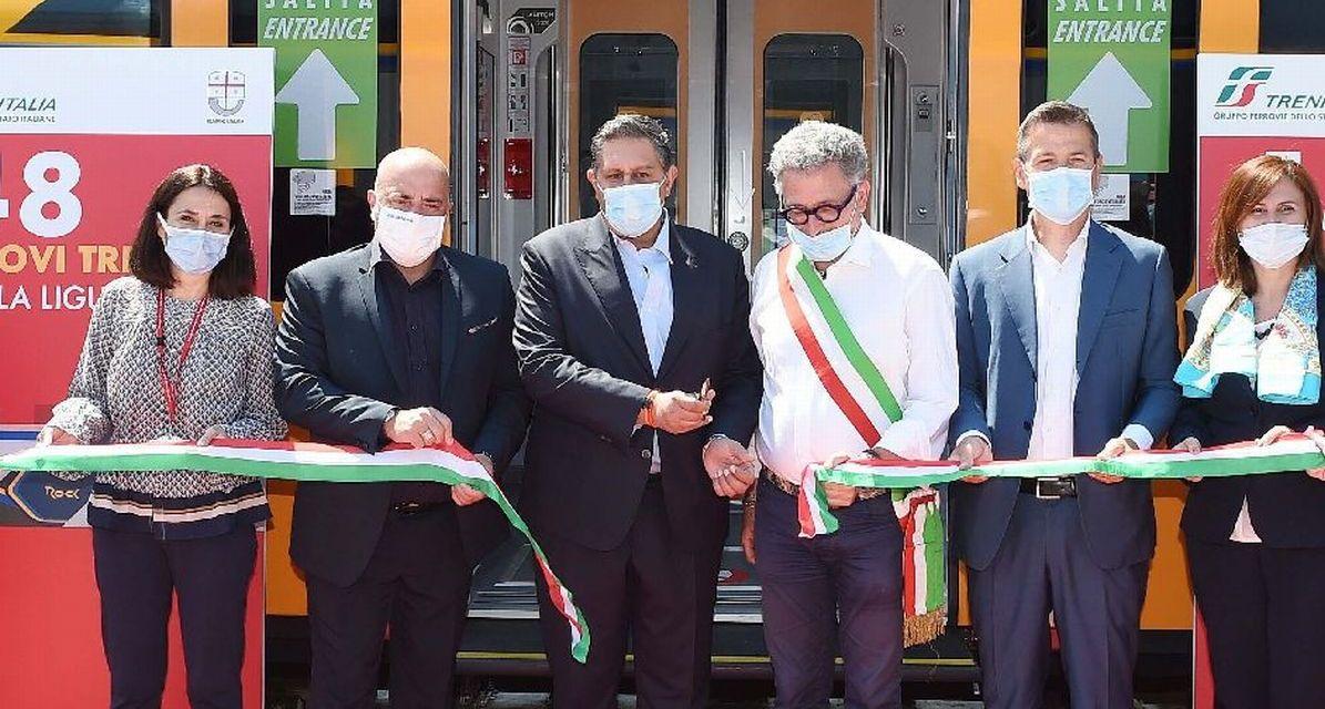 Dieci treni nuovi di zecca da Oggi circolano in Liguria