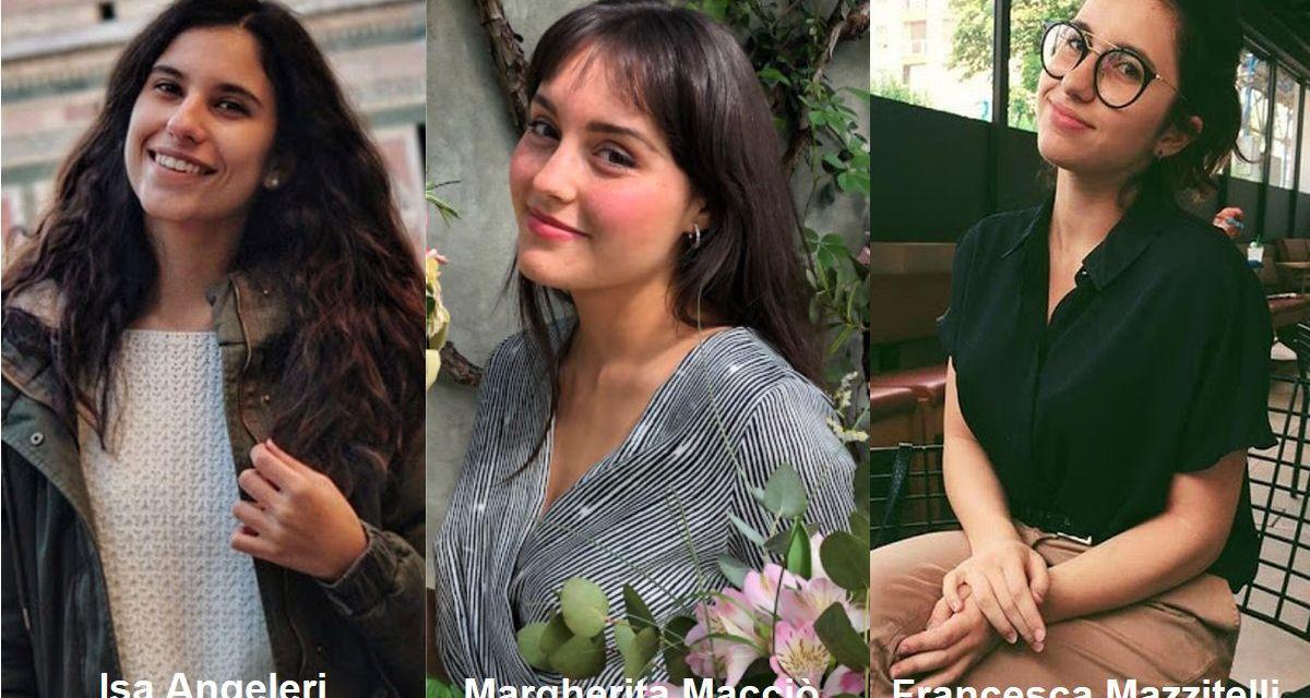 """Tre ragazze del Liceo Peano di Tortona vincono il concorso """"Diventiamo cittadini europei"""""""