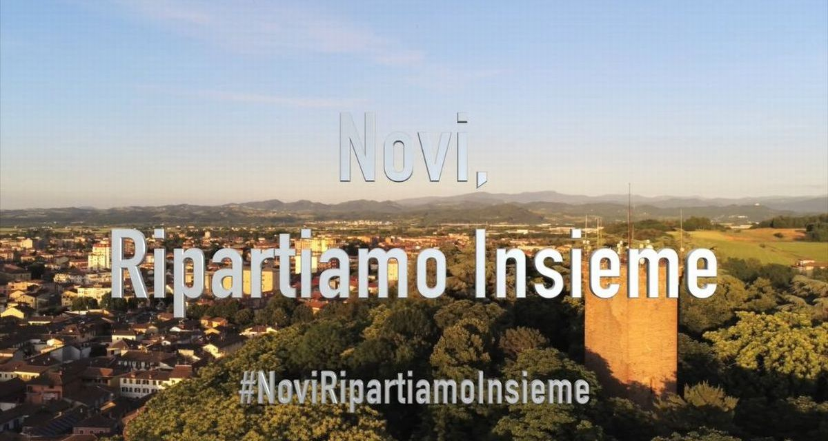 A Novi Ligure un video festeggia la ripartenza dell'economia