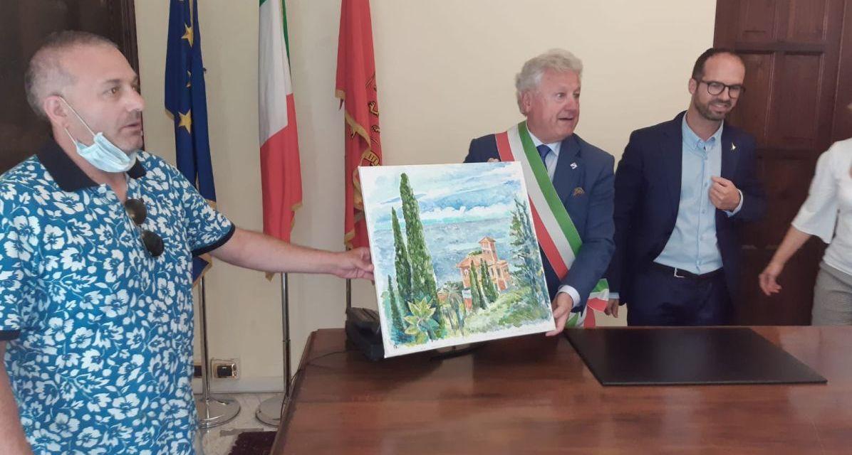 """""""Estate Ligure"""" en plein air"""" a Ventimiglia"""