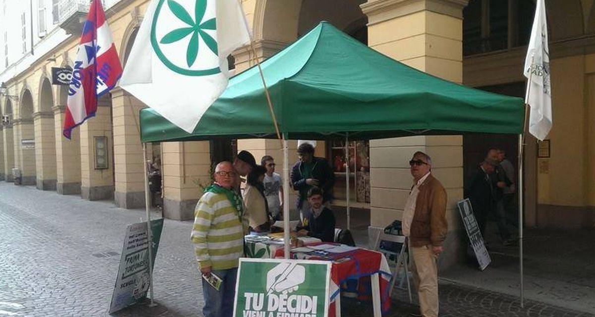 Sabato tanti Gazebo della Lega in tutta la provincia di Alessandria: raccolta firme per dire stop alla sanatoria per i clandestini