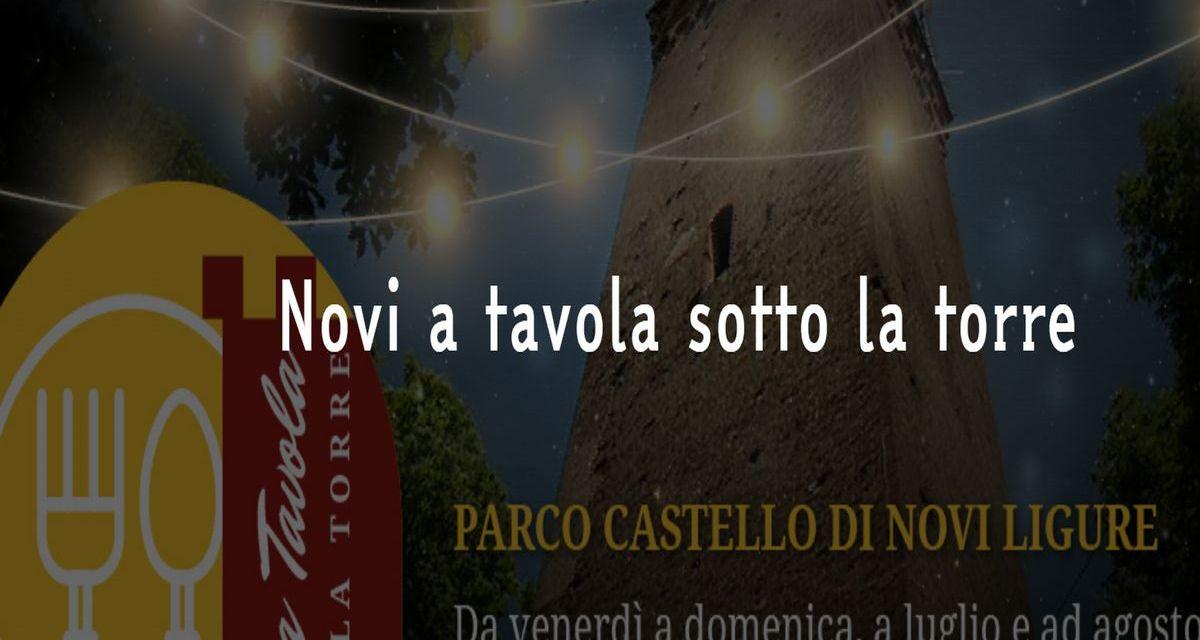 "Prende il via ""Novi a Tavola sotto la Torre"""