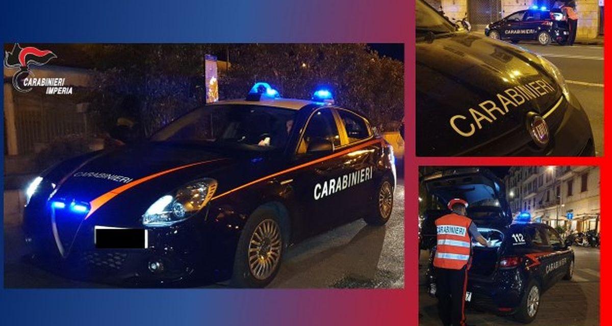 Controlli anti assembramento a Sanremo, un arresto