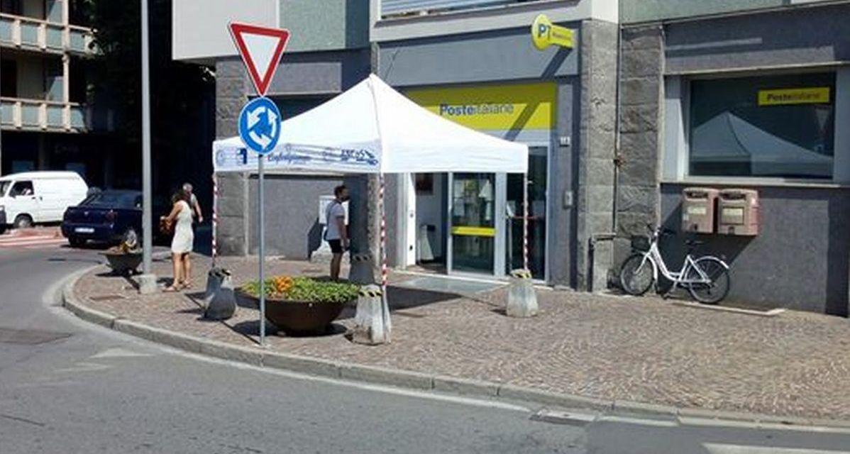 Dopo il nostro articolo Confartigianato offre un gazebo per risolvere il problema delle persone in coda al sole a Tortona
