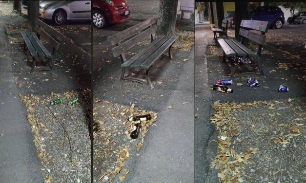 Piazza Milano a Tortona bivacco per stranieri maleducati? Le foto, la segnalazione di un lettore e…