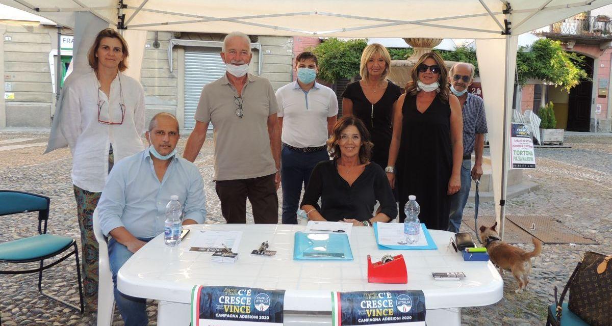 A Tortona ha preso il via la campagna di adesioni a Fratelli D'Italia
