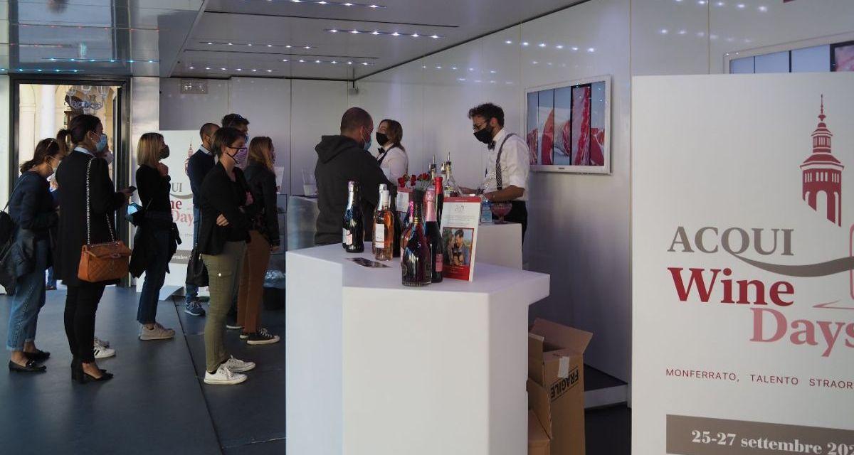 Acqui Wine Days, successo della prima edizione. Ricagno (Consorzio Vini d'Acqui): «Siamo soddisfatti»