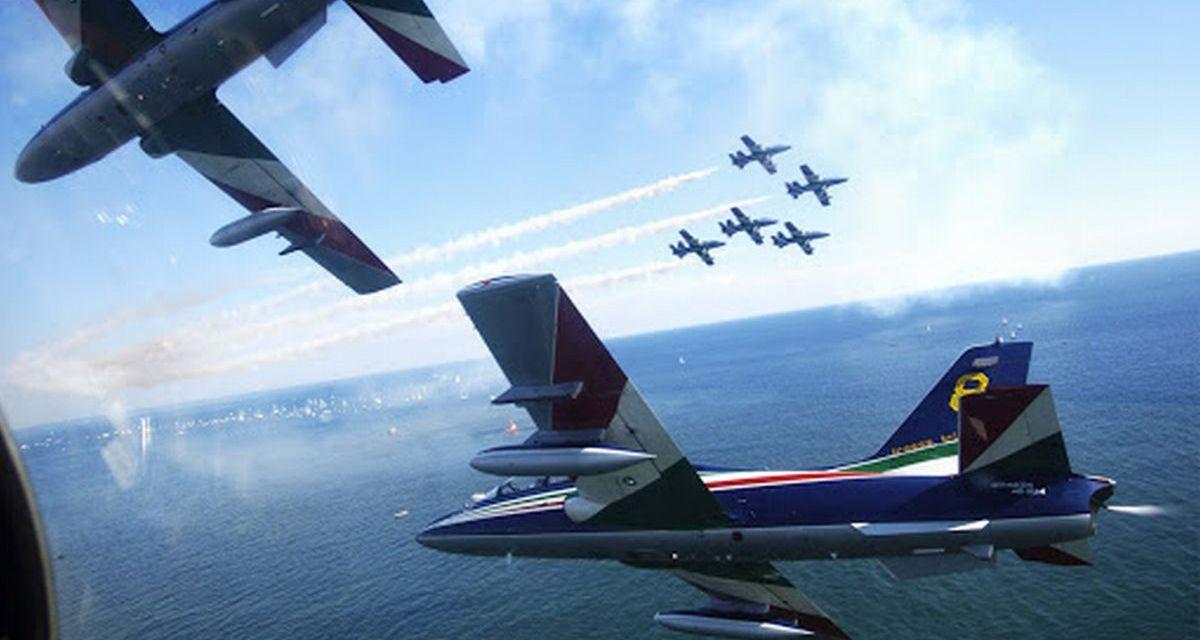 Personaggi Alessandrini: il pilota della Pattuglia Acrobatica Nazionale Giorgio Alessio