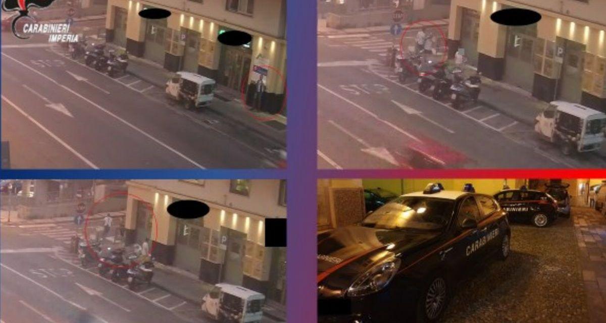 Un libico aggredisce e rapina un uomo a Sanremo, arrestato dai Carabinieri