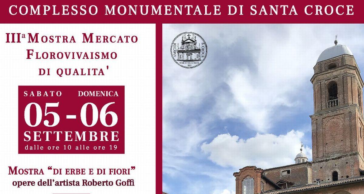 """A Bosco Marengo nel week end la mostra mercato florovivaismo di qualità """"Fiorinchiostro"""""""