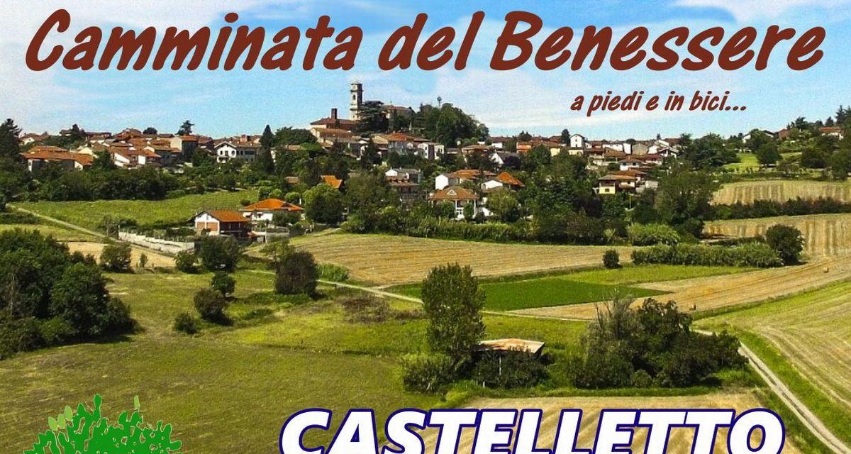 """Domenica Castelletto Monferrato inaugura la colonnina di ricarica e-bike all'interno della manifestazione """"Camminata del Benessere"""""""