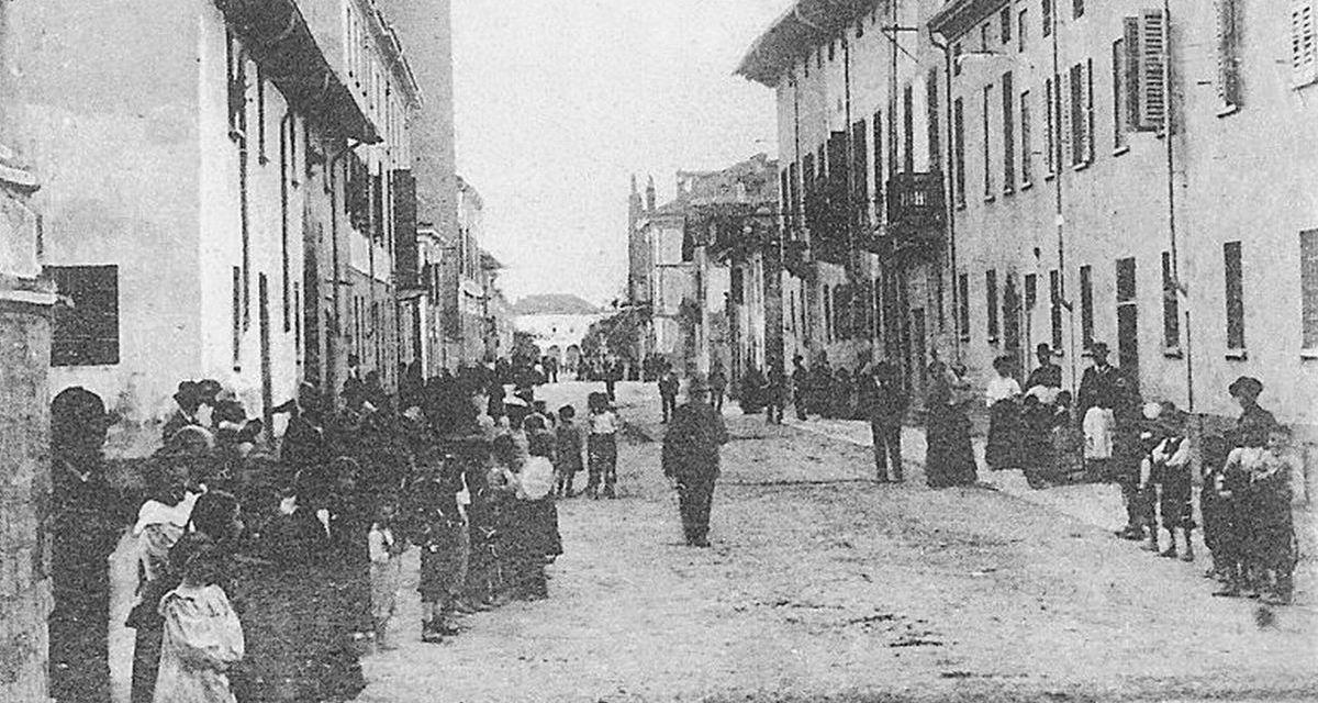 Marialuisa Ricotti e Claudia Nalin di Pontecurone ricordano i 150 anni di una particolare ricorrenza che cambiò il nome di una via