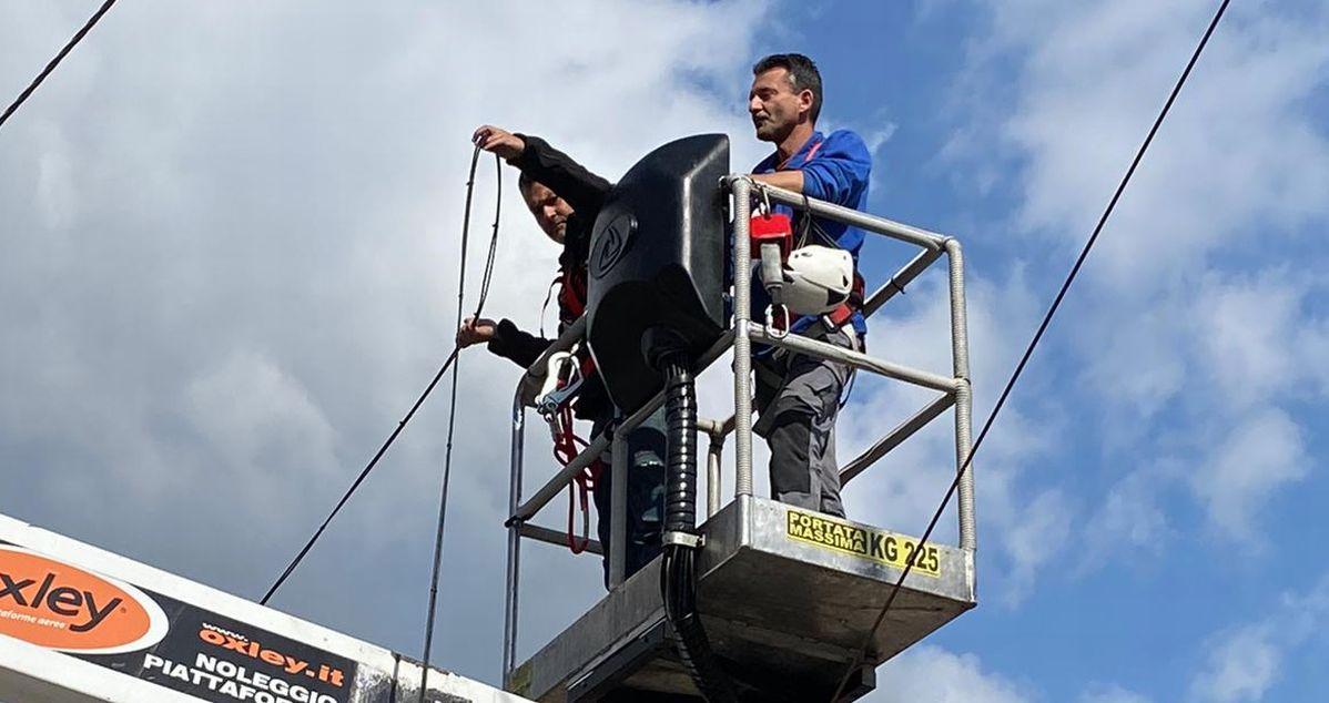 Banda ultra larga, lavori in corso a Sanremo per la Didattica a Distanza