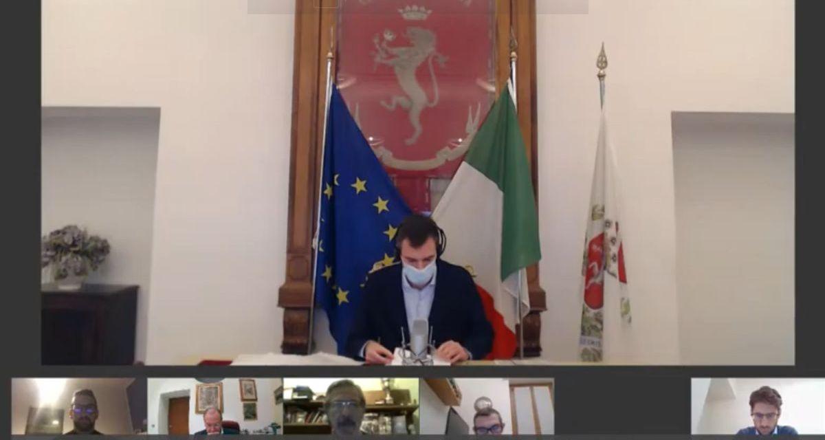"""Ieri sera a Tortona si è svolto il primo consiglio comunale """"da remoto"""""""