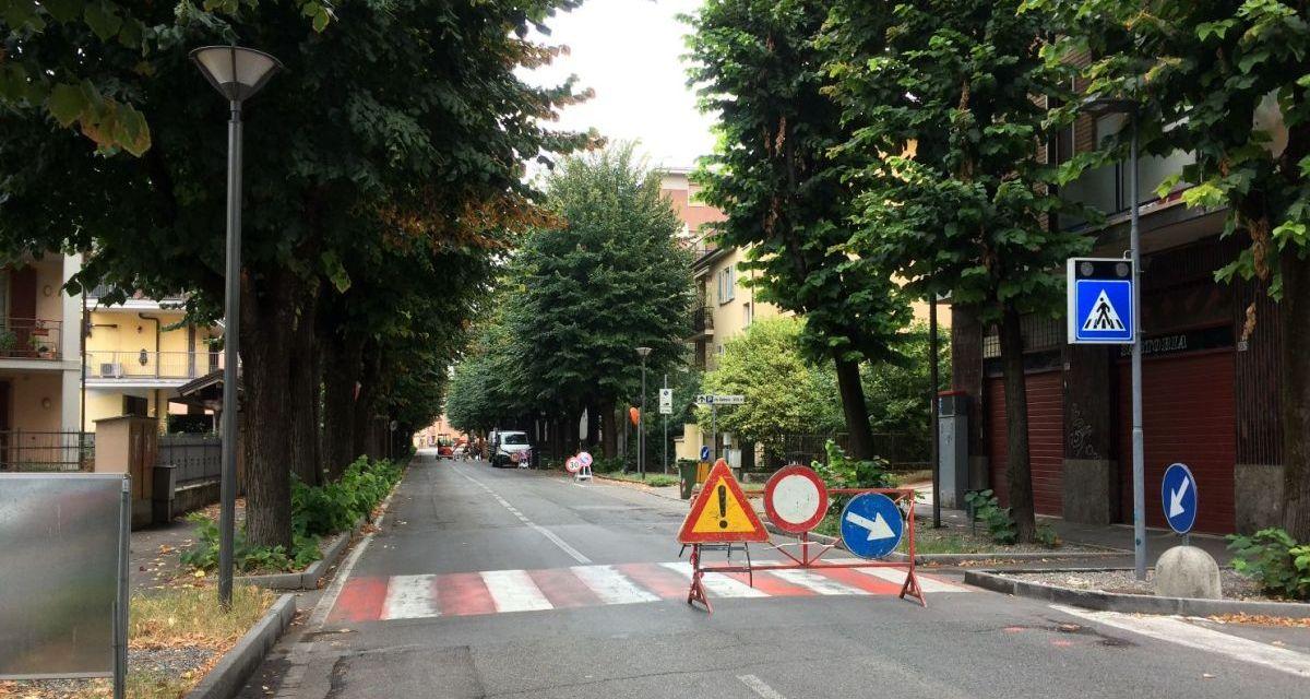 i lavori all' acquedotto in via Arzani a Tortona sono quasi conclusi