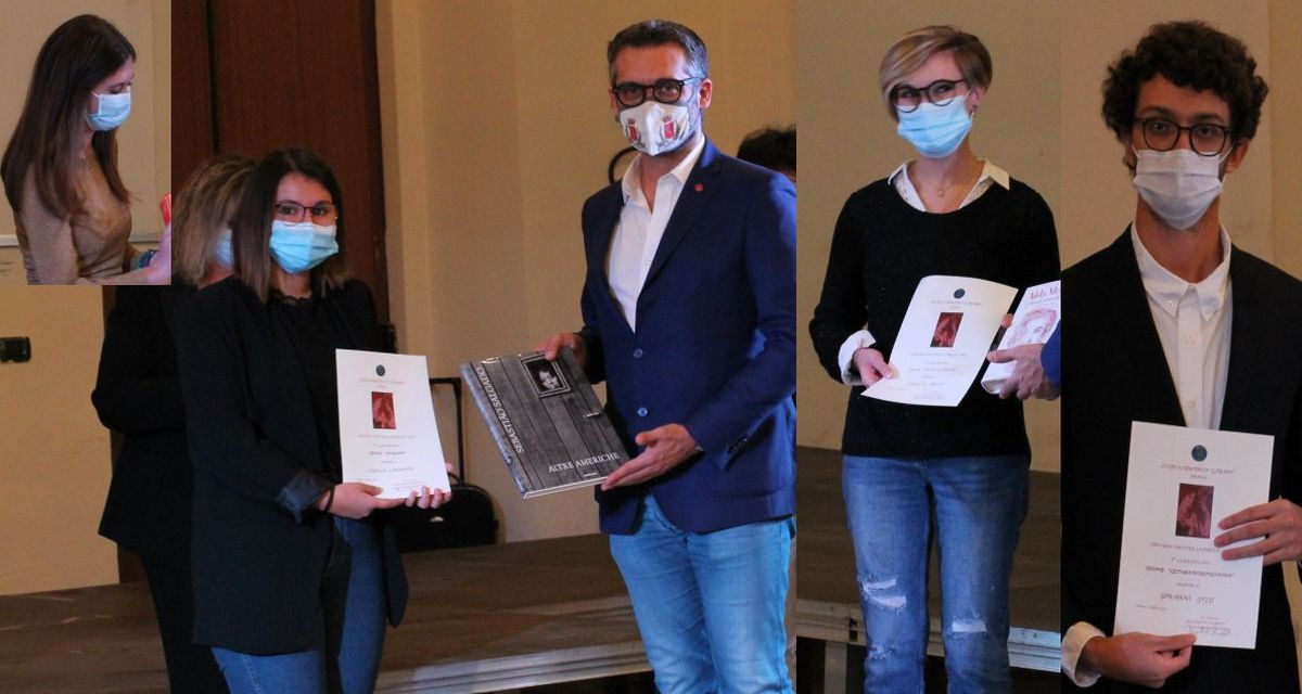 """Rizzetto, Cannata, Secco e Goggi vincono il concorso """"Voci per la Poesia"""" del Liceo Peano di Tortona"""