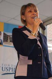 Alla Kouchnerova presidente fondazione Uspidalet
