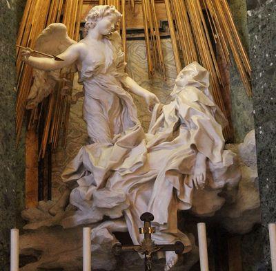 Santa Maria Della Vittoria E LEstasi Di Santa Teresa Di