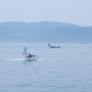 Pêcheurs près d'Ogijima