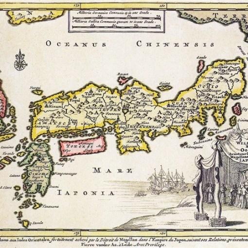 Carte du Japon 1707