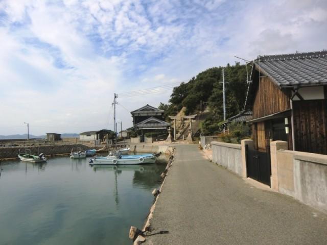 Le port de Kou sur Teshima