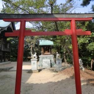 Temple Shinto à Honmura sur Shikoku