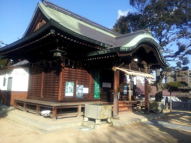 Kumano-Jinja à Takamatsu