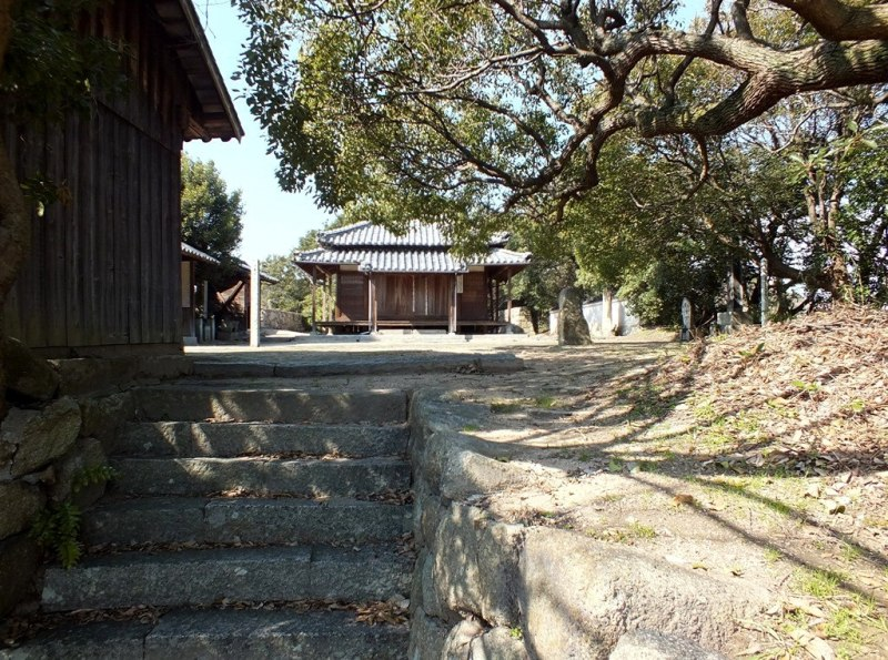 Sanctuaire sur Shamijima