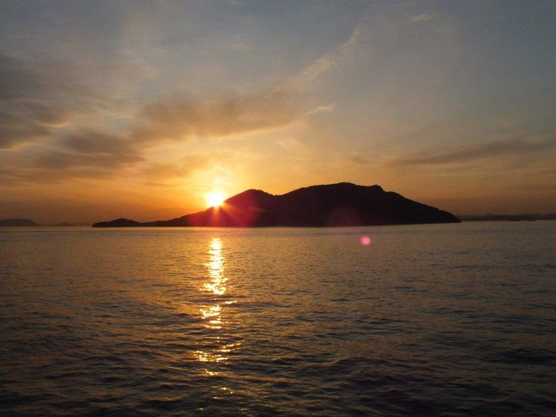 Coucher de Soleil - Ogijima