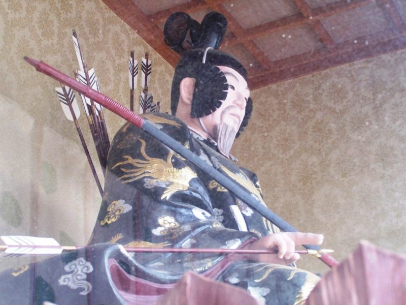 Konpira-san - Premieres Marches - Porte Statue 1