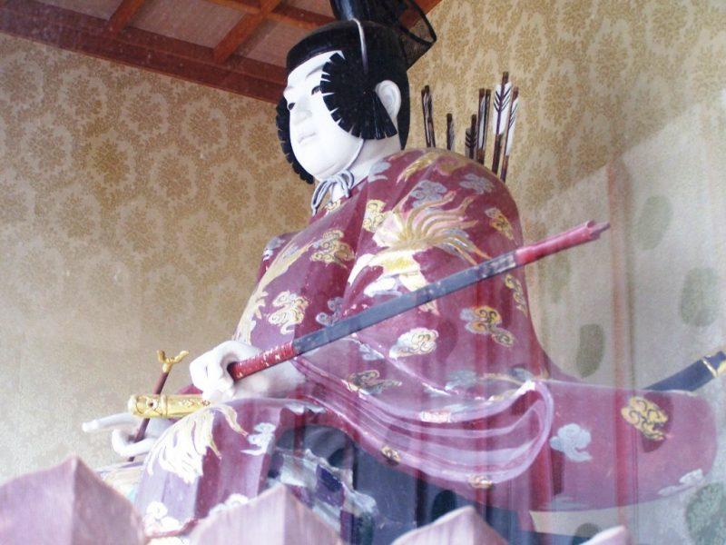 Konpira-san - Premieres Marches - Porte Statue 2