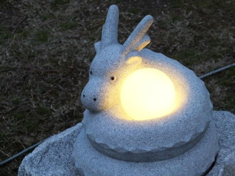 Lampes en Pierre Aji - 08