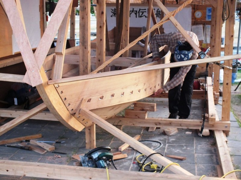 The Boat and the Builder - August 18 - 1