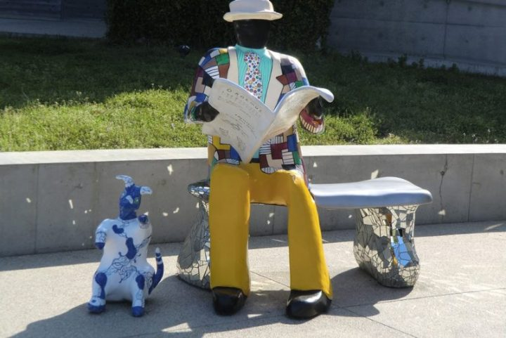 Niki de Saint Phalle - Naoshima - le Banc - 5