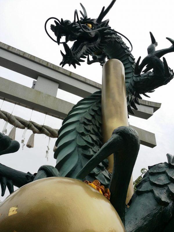 Dragon de Tamura-jinja