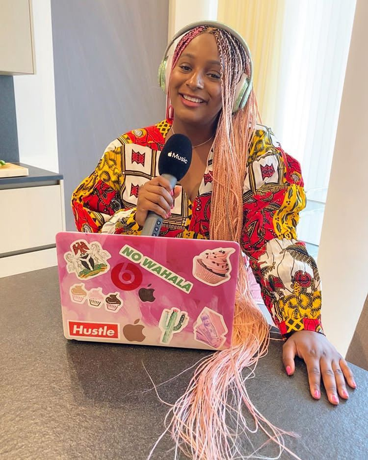 """DJ Cuppy Prays As She Share New Picture With Caption – """"May My Album Blow In Jesus Name"""""""