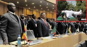 Africa Leader's Observe A Minute Silence