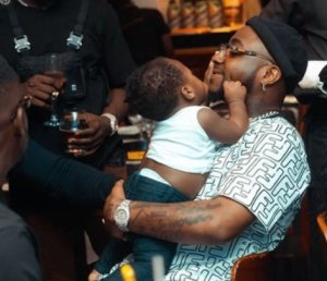 Davido Celebrates His Son, Ifeanyi On His First Birthday