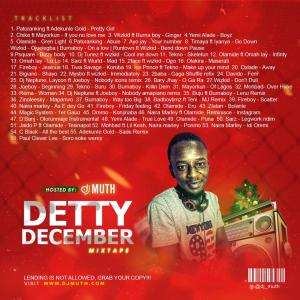 Detty December Mix (Hosted By Dj Muth)