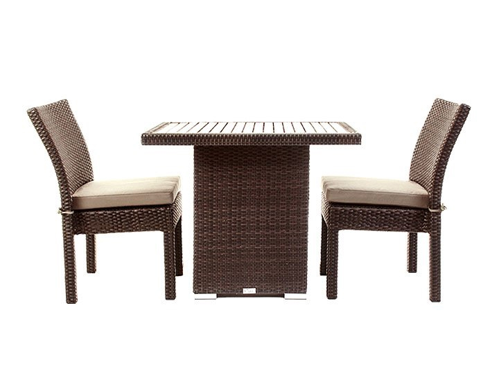 condo outdoor furniture dining table for balcony or small deck area