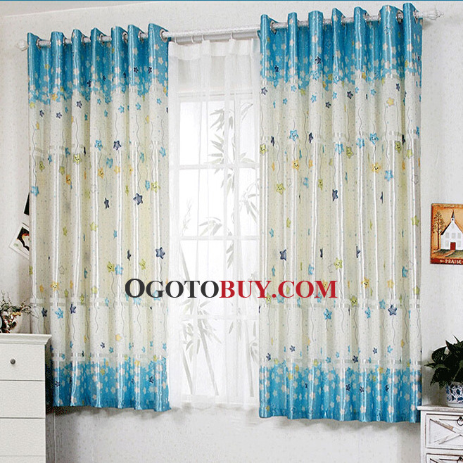 Blue Curtains For Boys Bedroom || VesmaEducation.com
