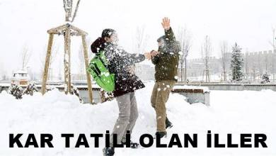Photo of 14.02.2020 Cuma Kar Tatili Olan İller
